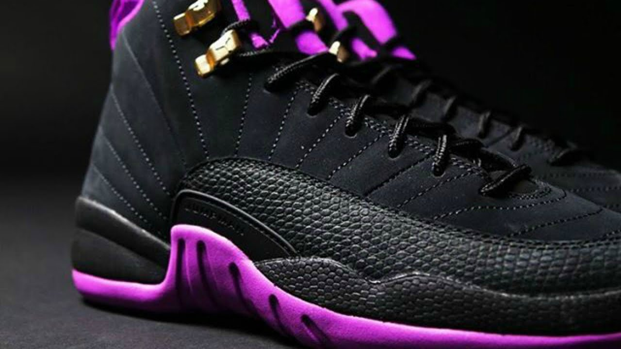 385bec5358cb Jordan Retro 12 Hyper Violet Early Access Review - YouTube