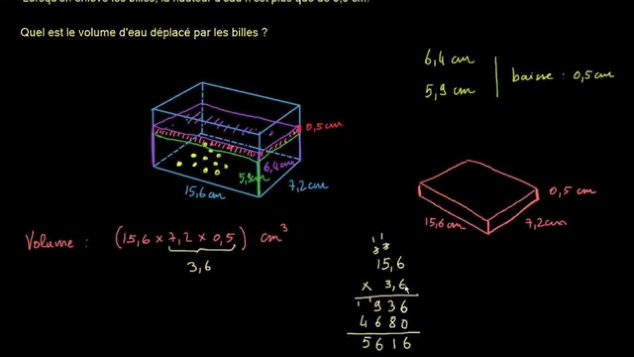uk availability pick up new high Volume d'un pavé droit - un problème concret (vidéo) | Khan ...