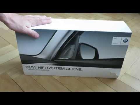 BMW Alpine HIFI System Unboxing