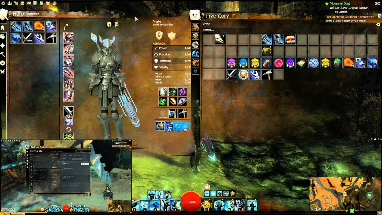 Guild Wars 2 gold farming and magic find gear