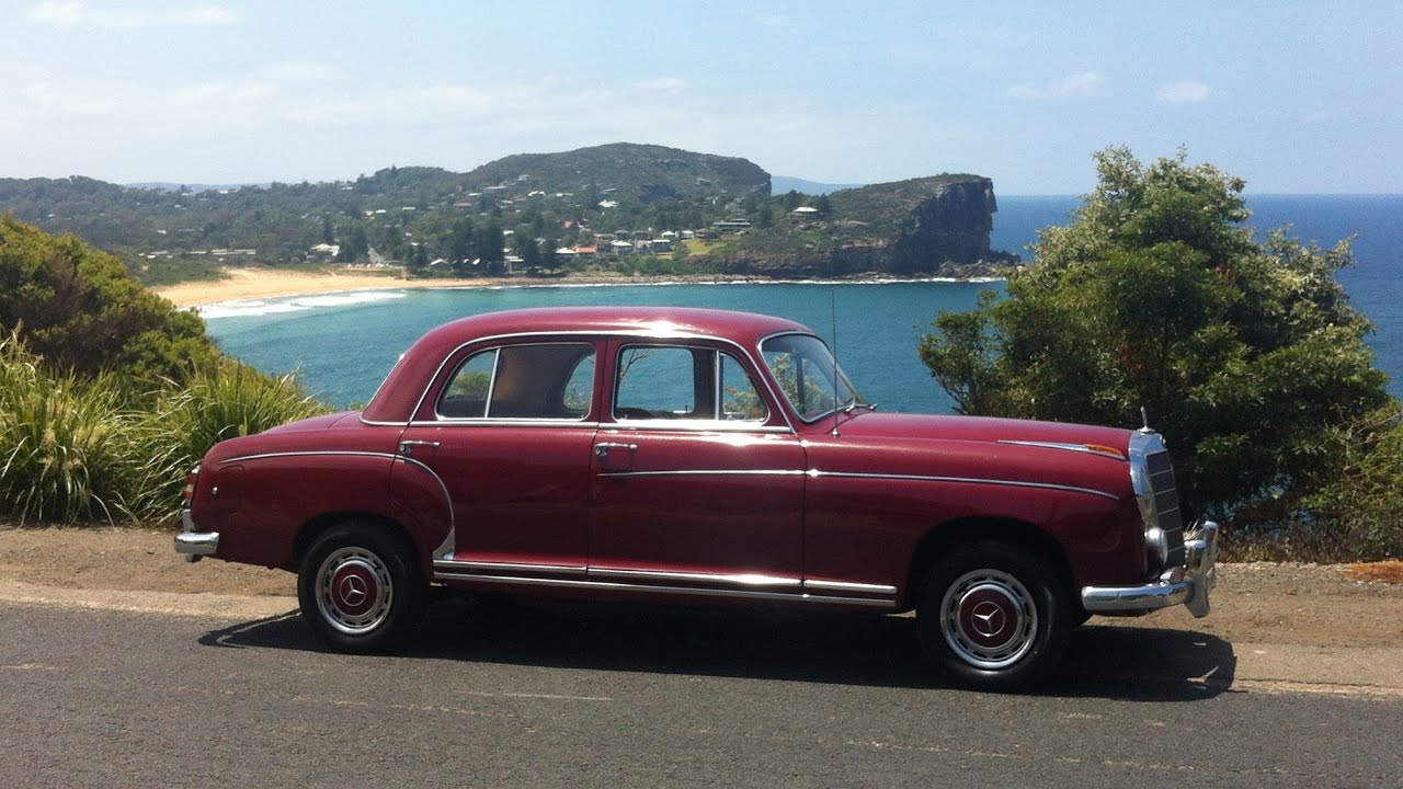 1959 mercedes benz ponton for sale youtube for Mercedes benz ponton