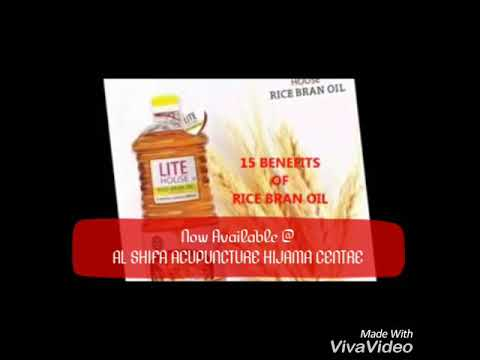 Rice Bran oil Benefits for Health