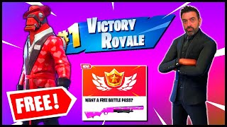 This Fortnite Father is Fifty - Battle Pass FREE? Camper Cralin