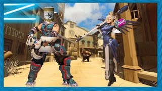 TOXIC PLAYER CALLS ME OUT - ZSTALKn's Overwatch Misadventures Of Competitive