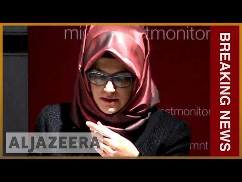 Khashoggi fiancee demands location of body from Saudi l Breaking News Mp3