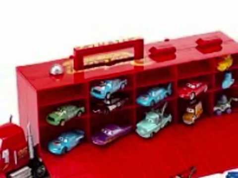 disney pixar cars mack camion transportador de coches juguetes para ni os youtube. Black Bedroom Furniture Sets. Home Design Ideas