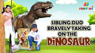 Jainam & Jivika's One Night & Day With Dinosaurs World