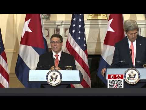 SMG News Coverage on Cuban Embassy Reopening in Washington D.C 2015 (Correspondent Ching-yi Chang)