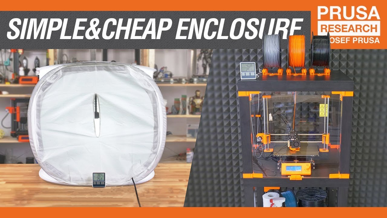 How To Build A Simple Cheap Enclosure For Your 3d Printer