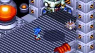 Sonic 3D Blast - All Bosses