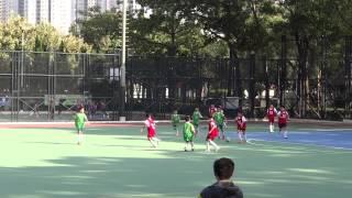 2014/11/20 梁潔華vs志蓮 上半場 小學校際足球