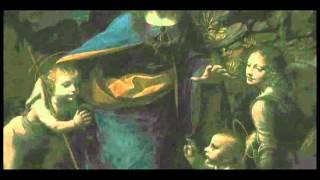ロンドン・ナショナルギャラリーで特別に展示されたレオナルド・ダ・ヴ...