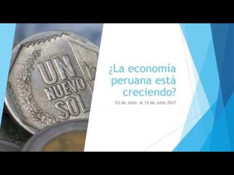 ¿La economía peruana está creciendo?