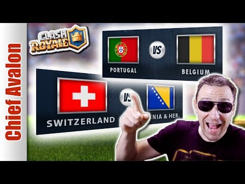 MGL WORLDS: PORTUGAL vs BELGIUM | SWITZERLAND vs BOSNIA | Clash Royale