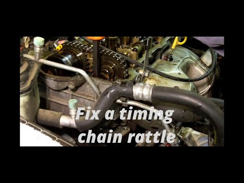 Nissan 1.6L Timing Chain Rattle part 1