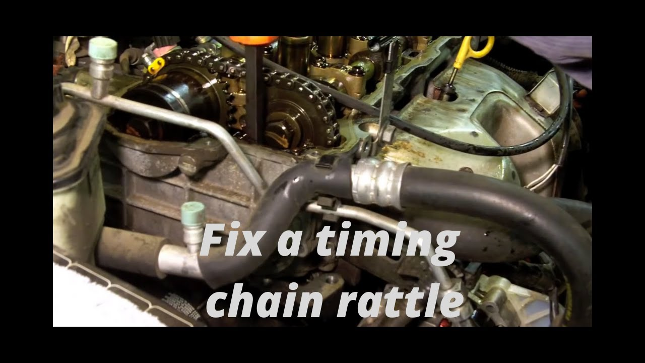nissan 1 6l timing chain rattle part 1 youtube nissan 2 4 timing chain diagram besides 1999 nissan sentra timing [ 1280 x 720 Pixel ]