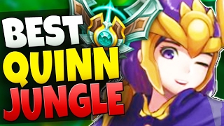 MASTER TIER QUINN JUNGLE ONE TRICK - LETHALITY ABUSE - League of Legends