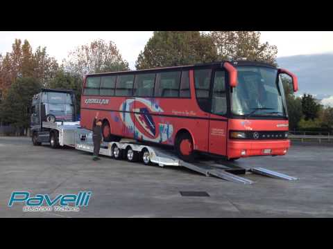 Pavelli STV Smart - Prove di carico Autobus / Loading test with bus