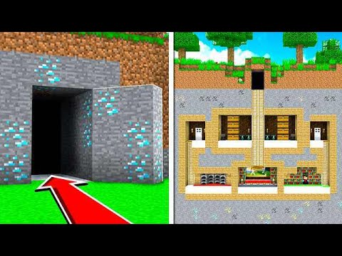 HOW TO BUILD A 100% HIDDEN BASE IN MINECRAFT!