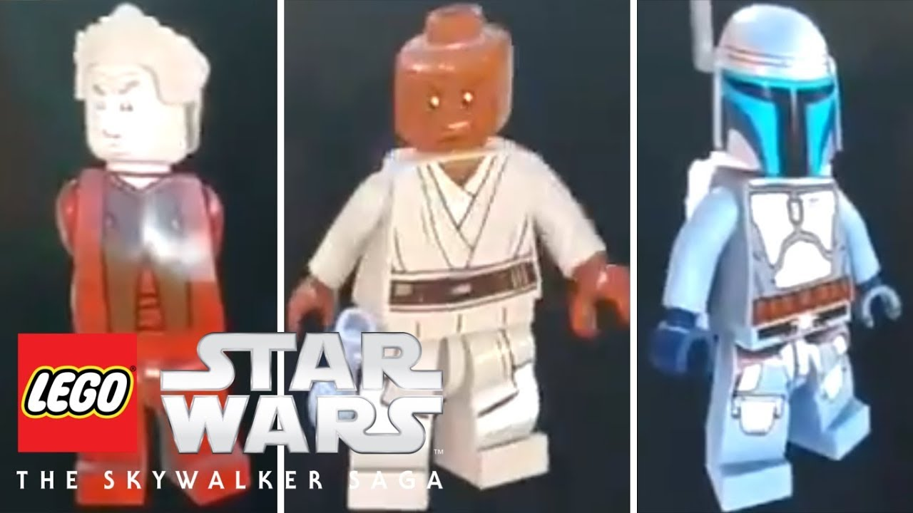 Lego Star Wars The Skywalker Saga New Characters And Gameplay Details Revealed Youtube