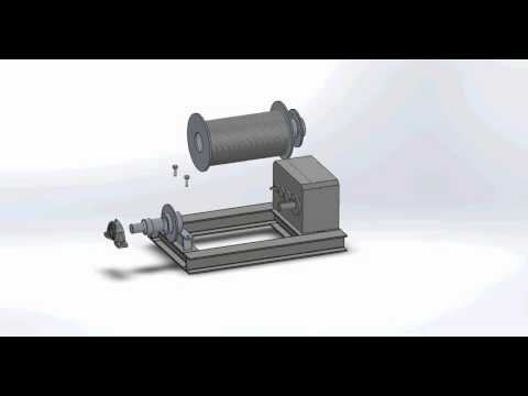 Machine Design Winch