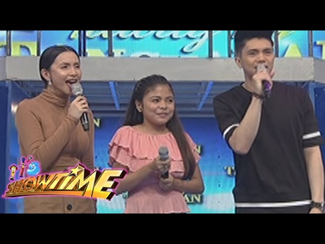 """It's Showtime: Mariel's version of """"What About Love"""""""