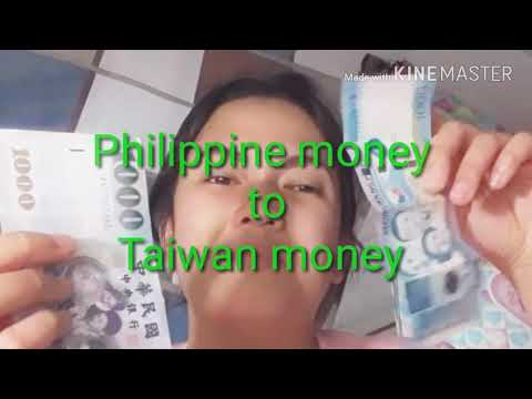 Philippine Money To Taiwan Money / PESO Money To NT Money / (taiwan Life)