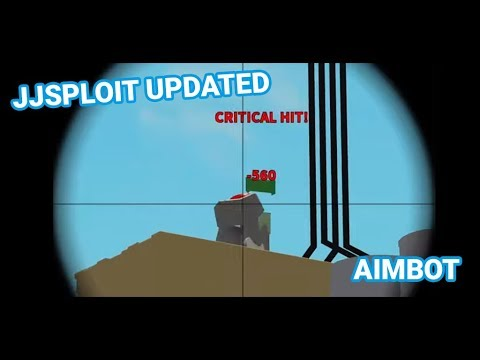 Roblox Aimbot Built Into JJSploit | Updated | Arsenal