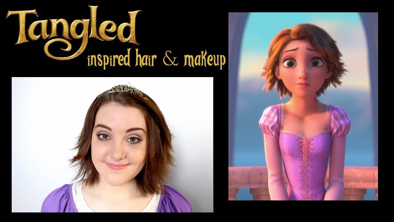 Tangled S Rapunzel Inspired Makeup And Hair Feat Gillian Grace Tj Youtube