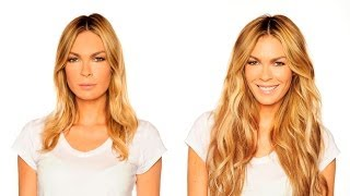 Как правильно крепить волосы на заколках  (трессы, накладные пряди)