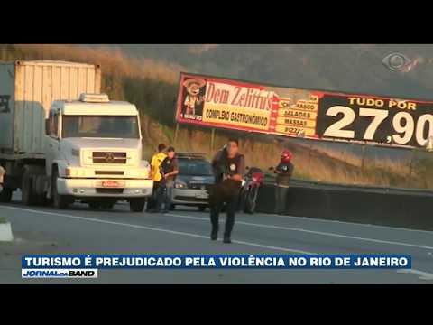 Turismo é prejudicado pela violência no RJ