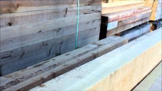 Pecky Cedar Timbers For Your Garden Boxes