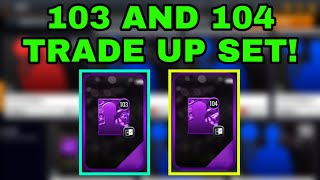 OPENING A 103 AND 104 TRADE UP SET IN NBA LIVE MOBILE 20!!!