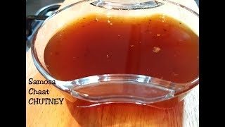 Samosa/Chaat CHUTNEY - Original recipe - Imli ki meethi CHUTNEY- only 5 ingredients