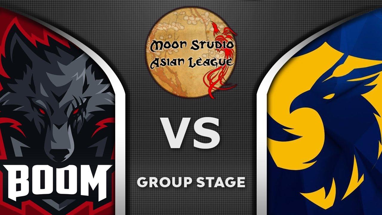 BOOM vs 496 GAMING - ASIAN LEAGUE - Moon Studio 2020 Highlights Dota 2