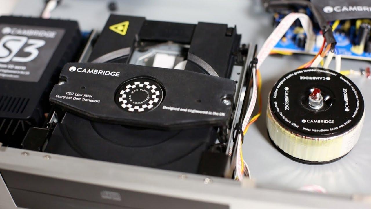 CD Cambridge Audio CXC Silver