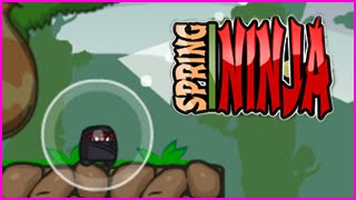Spring Ninja Level 1-9 Walkthrough