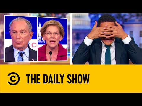 Candidates Roast Bloomberg During The Democratic Debate | The Daily Show With Trevor Noah