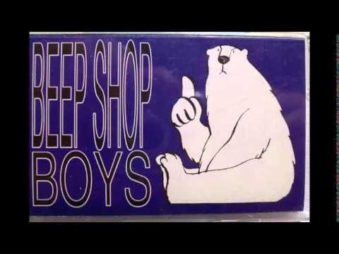Närige pori - Beep Shop Boys - Valge karu
