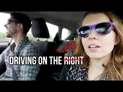 FIRST TIME DRIVING ON THE LEFT! // Auckland, New Zealand