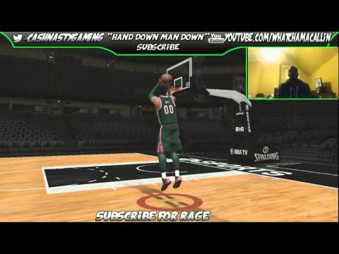 Nba Live 14 Shoot Around Mode O.J MAYO After The Patch LiveStream Twitch Xbox One