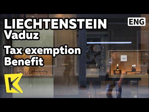 【K】Liechtenstein Travel-Vaduz[리히텐슈타인 여행-파두츠]면세 혜택 리히텐슈타인/Tax/Shopping/Bank/Corporate tax/