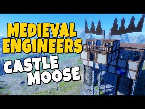Medieval Engineers - Castle Moose |