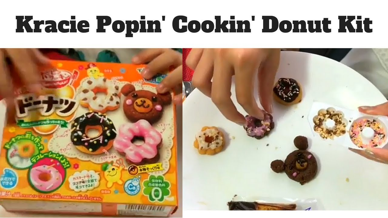 Japanese donuts tutorial: how to make japanese donuts? Kracie.