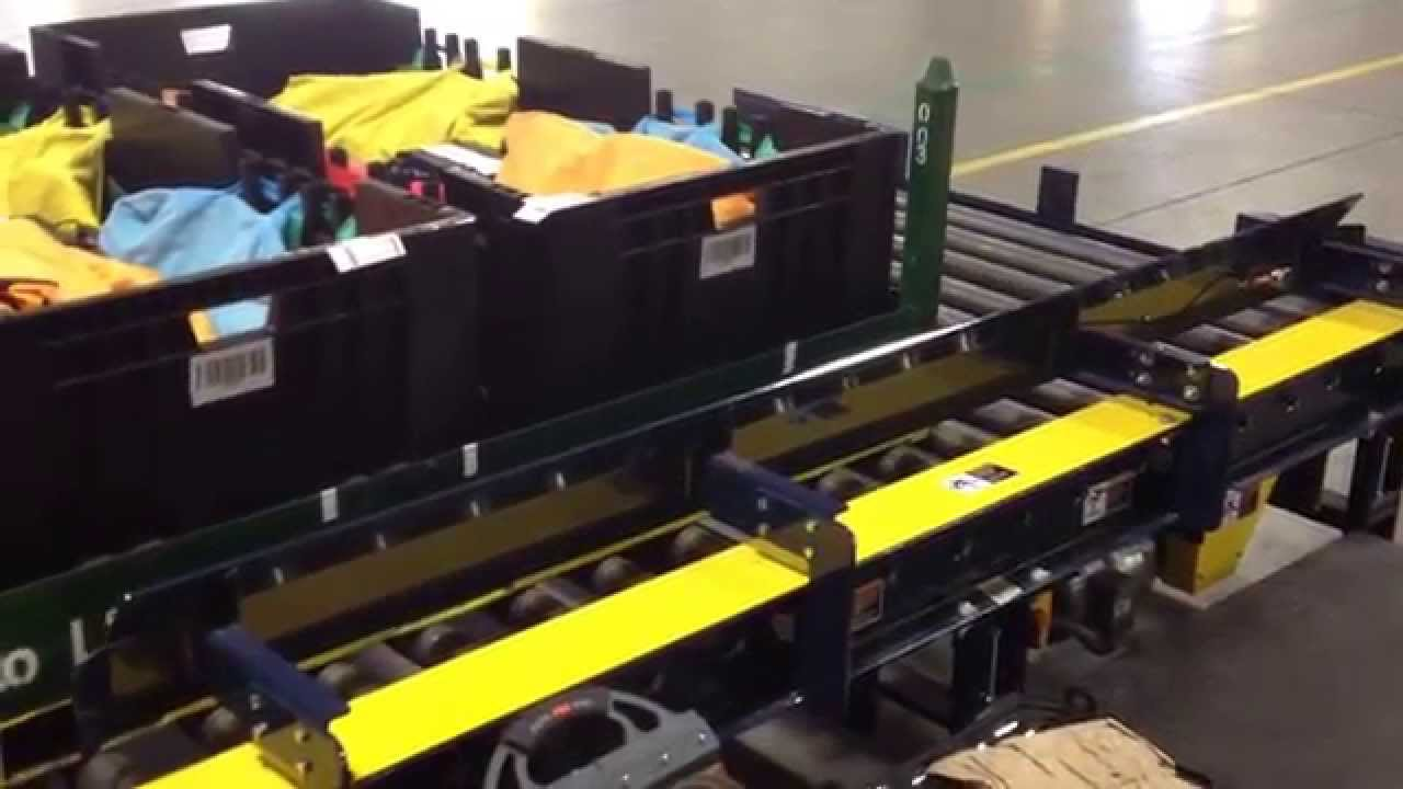 Pallet Inspection Conveyor System Cognex 7010c Color