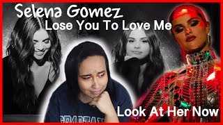 Selena gomez - lose you to love me & look at her now (official music video reaction)