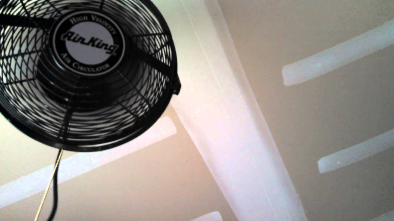 air king high velocity fan in my garage - youtube
