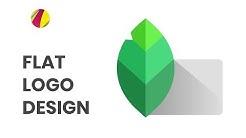 Flat Logo Design in Gravit Designer. Getting Started with flat design in Gravit.