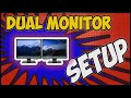 How to setup dual monitor with Laptop using HDMI cable | Dual Monitor Setup 2020