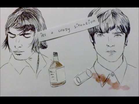 Oasis - cigarettes and alcohol - lyrics